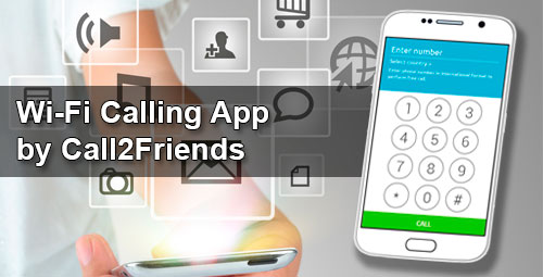 Wi-Fi Calling App by Call2Friends